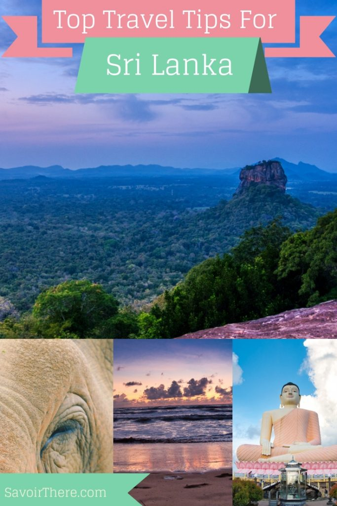 Sri Lanka Travel Tips Pinterest Pin
