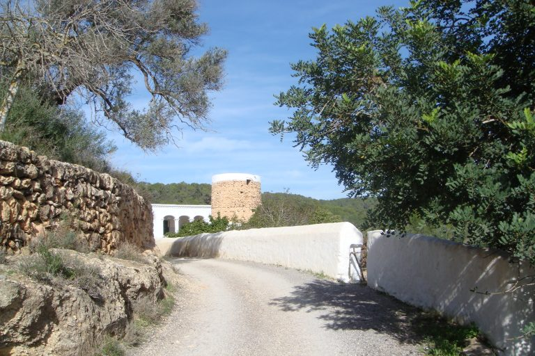Rural roads in Northern Ibiza