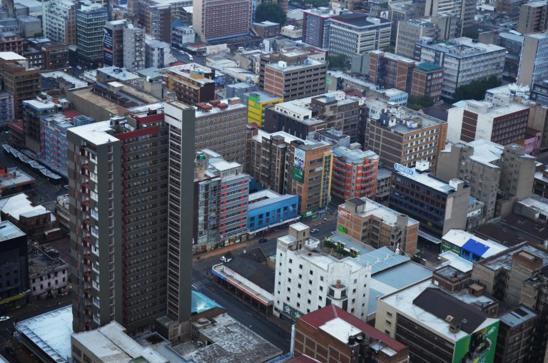 Johannesburg has built outwards as well as upwards