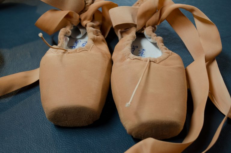 Ballet shoes at the Royal Winnipeg Ballet