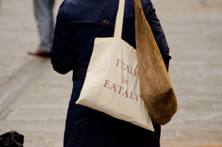 Italy Is Eataly Bag