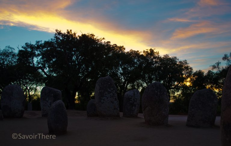 Almendres megalithic site