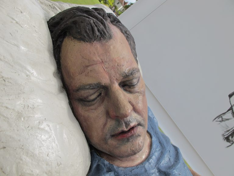 Sean Henry Sculpture at Salisbury Cathedral