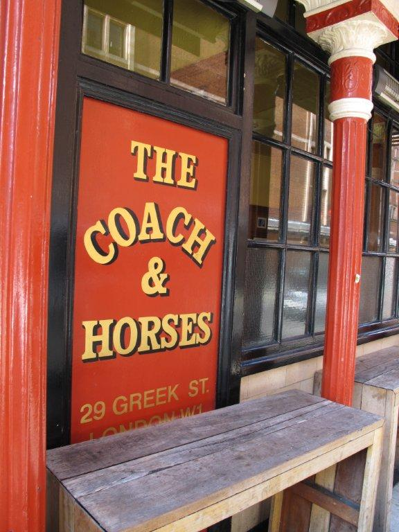 Soho's Secret Tea Room @ The Coach and Horses