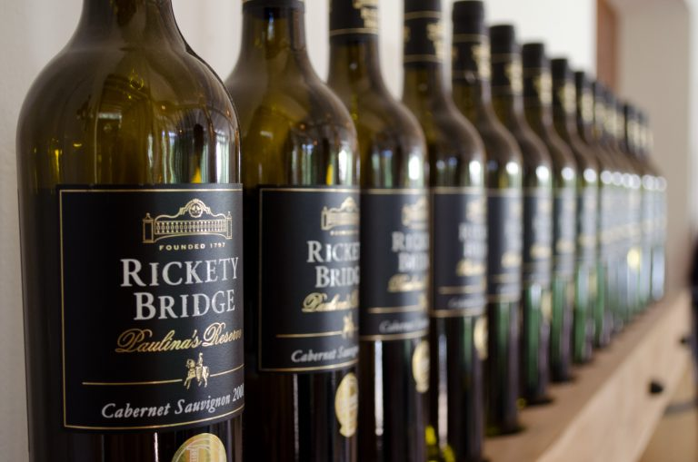 Rickety Bridge Wine Bottles