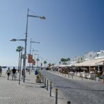 The promenade at Paphos