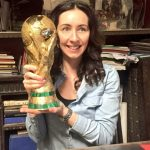 Me with the world cup