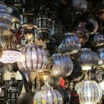 Twinkling Lamps in the bazaar